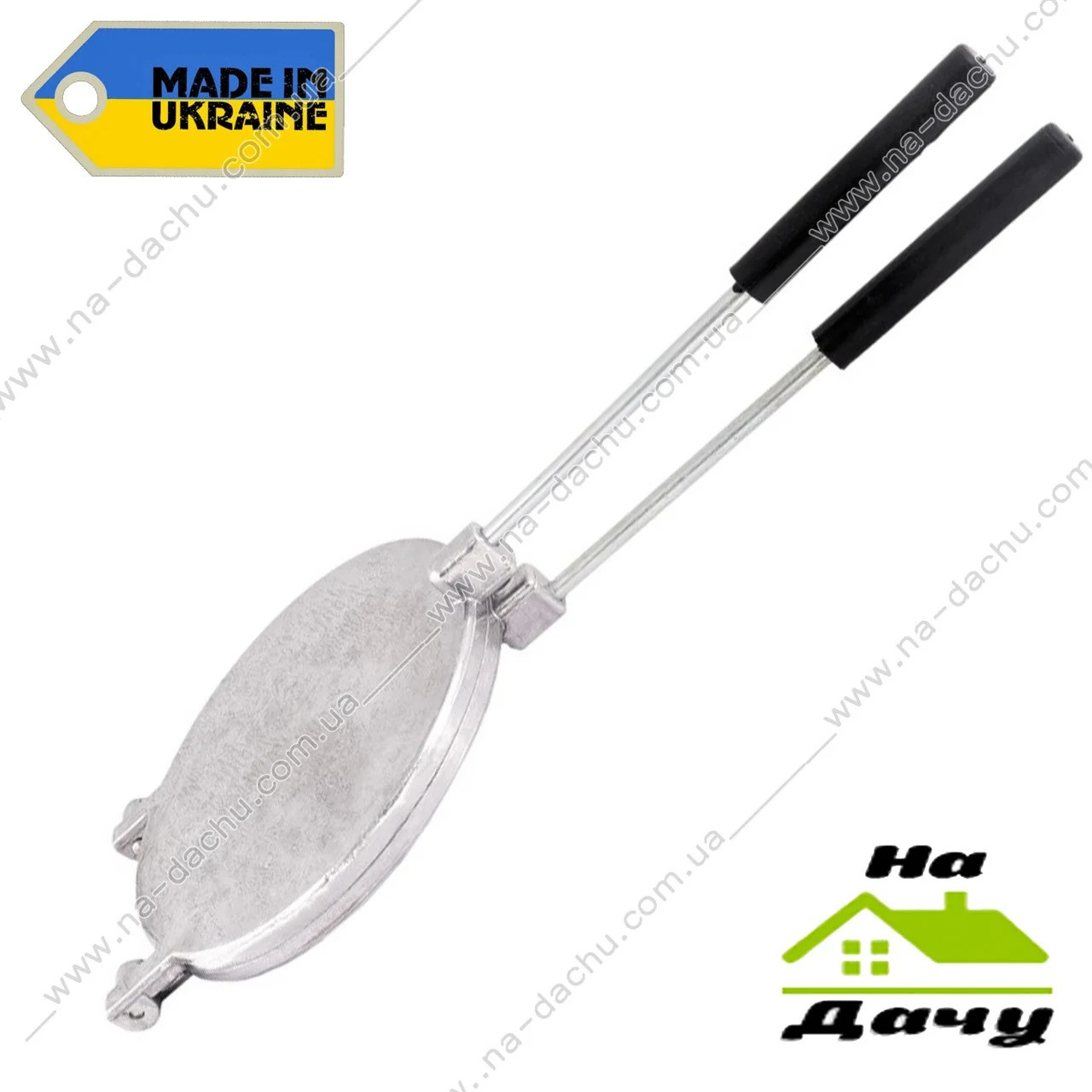 Форма для вафель круглая металлическая 220 мм, Господар 92-0843