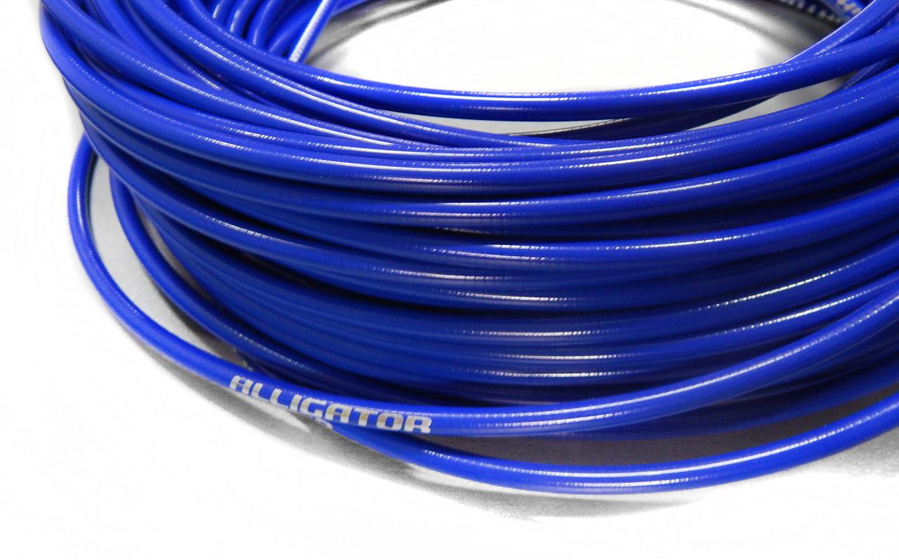 Рубашка для переключателя Alligator LY-16630BL SР 4мм синий