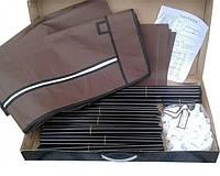 Тканевый складной шкаф для одежды и обуви 175х130х45 см Storage Wardrobe 88130, Детские органайзеры для