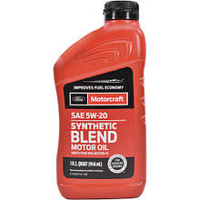Моторное масло Ford Synthetic Blend Motor Oil 5W-20