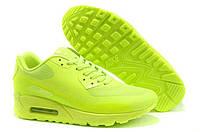Кроссовки женские  Nike Air Max 90 Hyperfuse (в стиле найк аир макс) желтые