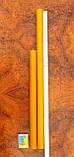 Цилиндрическая восковая свеча D28-380мм из натурального пчелиного воска, фото 3
