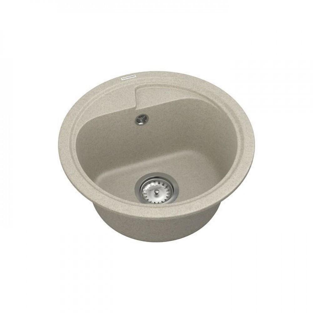 Кухонна кругла мийка Vankor POLO PMR 01.45 Terra