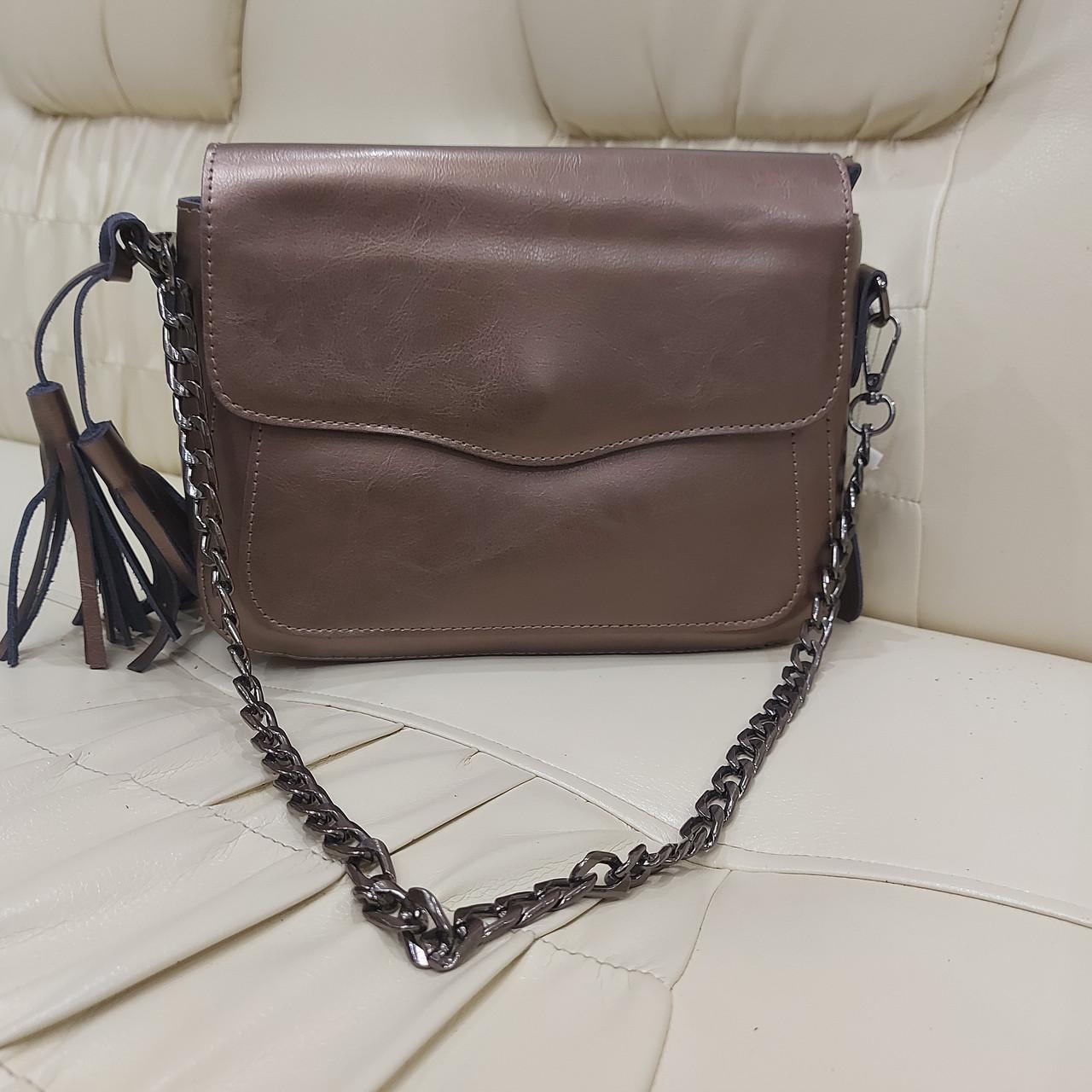 Женская сумочка Bronze из натуральной кожи