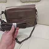 Женская сумочка Bronze из натуральной кожи, фото 3