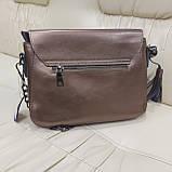 Женская сумочка Bronze из натуральной кожи, фото 5