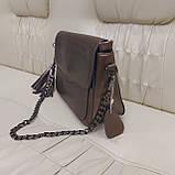 Женская сумочка Bronze из натуральной кожи, фото 7