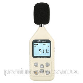 Цифровой шумомер 30-130 дБ BENETECH GM1358