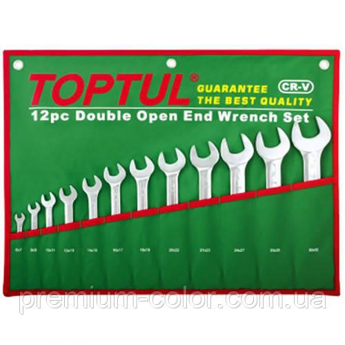 Набір ріжкових ключів 6-32 мм TOPTUL 12 шт. GAAA1206
