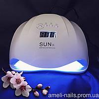 LED+UV Лампа для маникюра и педикюра SUN X, 54W(Уф Лампа для ногтей, лед лампа для сушки гель лака)