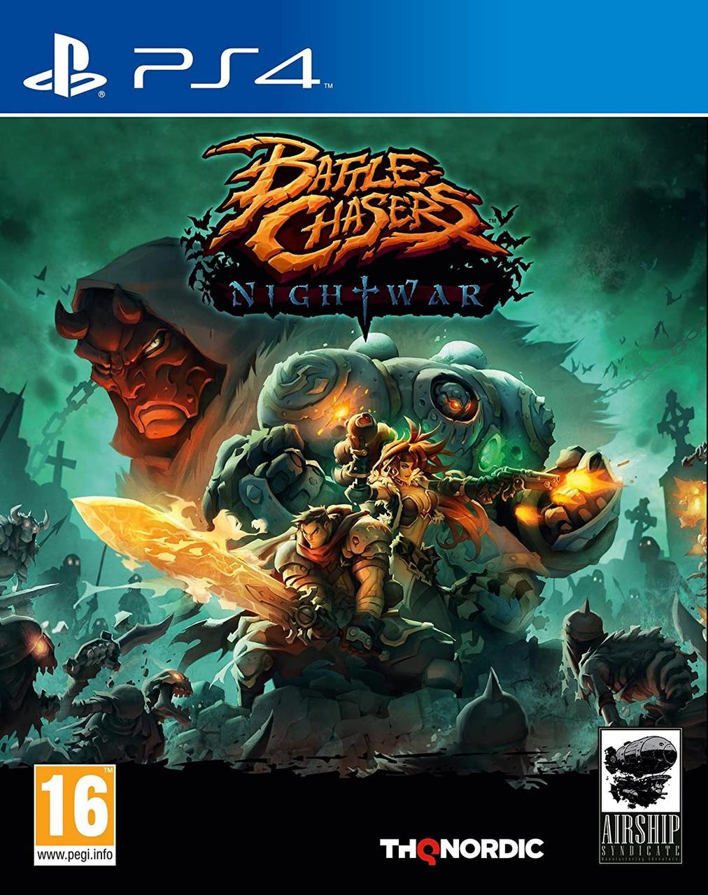 Battle Chasers Nightwar (русская версия) PS4