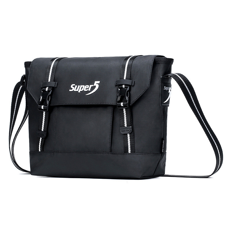 Спортивная сумка через плечо Super5 K00126, из водоотталкивающей ткани, 4л