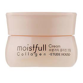Крем для лица коллагеновый мини-версия Etude House Moistfull Collagen Cream 10 мл