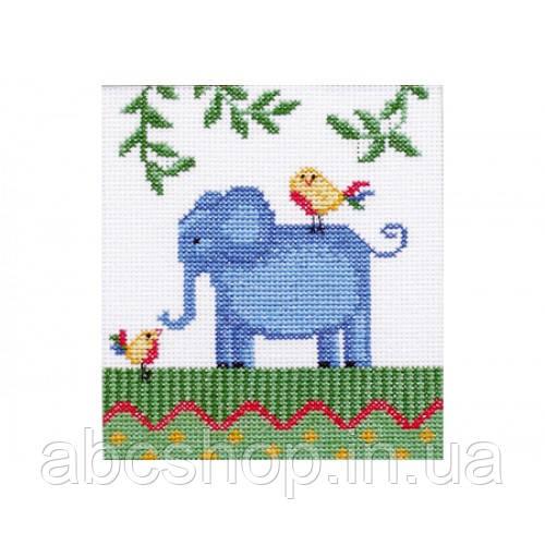 """""""Африка. Слон"""" - Набір для вишивання хрестиком"""