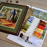 """Набір для вишивання хрестиком """"Осінній парк"""", фото 4"""