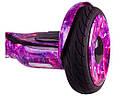 Гироскутер Гироборд Smart Balance 10.5 Фиолетовый Космос, фото 4