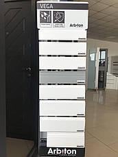 Плинтус Arbiton VEGA P0610 напольный белый под покраску (60x20x2400), фото 2