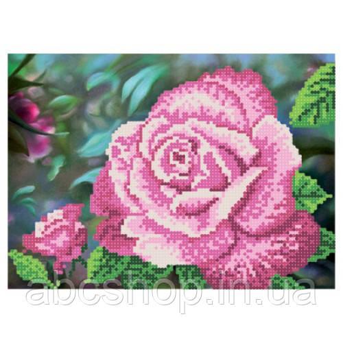 """""""Королева саду рожева"""" - Схема для вишивки бісером"""