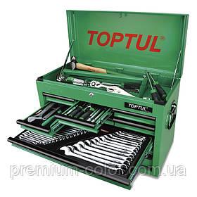 Ящик з інструментом TOPTUL (TBAA0901, 9 секцій) 186ед. GCBZ186A