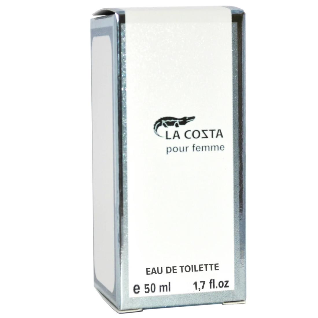 Туалетная вода для женщин EVA cosmetics Ароматы мира La Cozta pour femme 50 мл (04370100503)