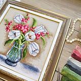 """""""Тюльпани"""" - Набір для вишивання хрестиком, фото 4"""
