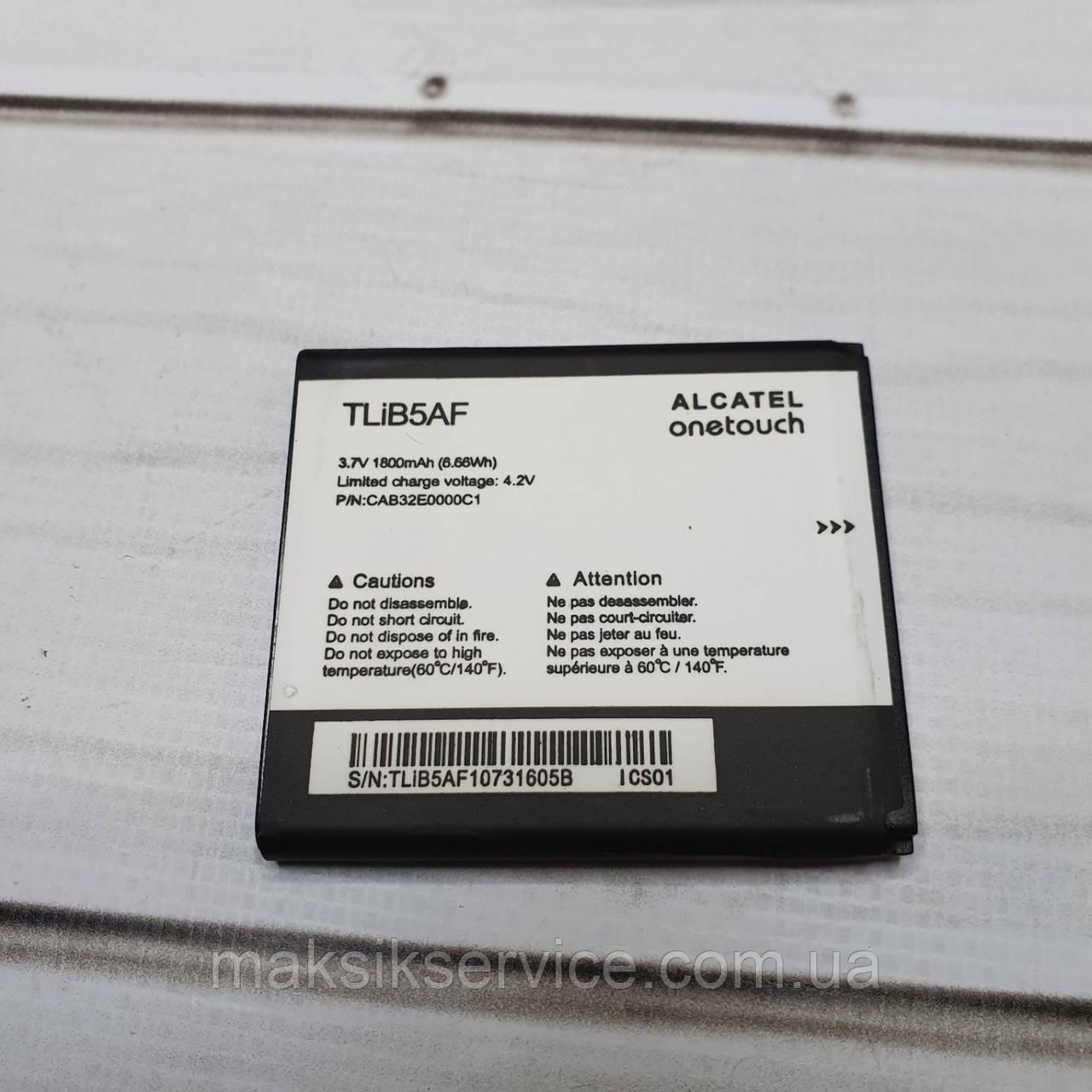 Аккумулятор (Батарея) Alcatel TLiB5AF 1800 mAh Ardesia 997D