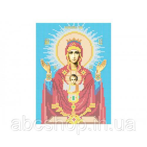 """""""Божа матір Невипивана чаша"""" - Схема для вишивки бісером ікони"""