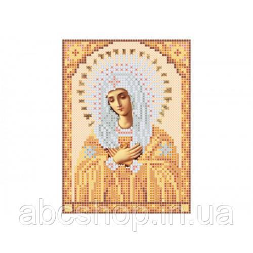 """""""Божа матір Розчулення А5"""" - Схема для вишивки бісером ікони"""