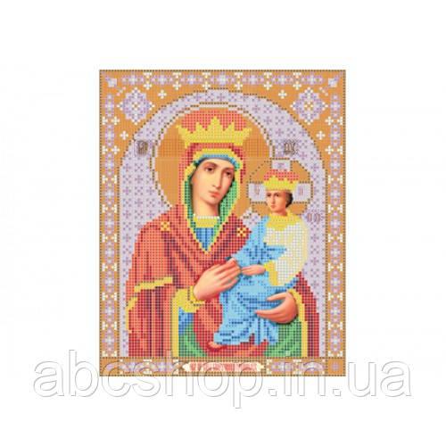 """""""Божа матір Споручниця грішних"""" - Схема для вишивки бісером ікони"""