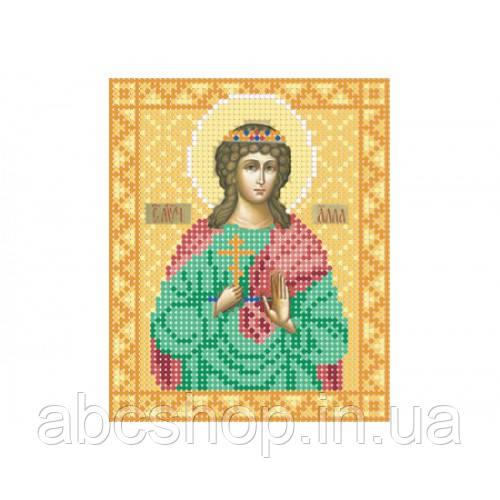 """""""Свята Алла"""" - Схема для вишивки бісером ікони"""