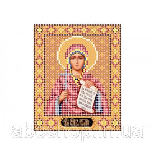 """""""Свята мучениця Наталія"""" - Схема для вишивки бісером ікони"""