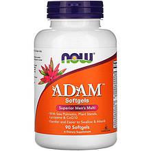 """Вітаміни для чоловіків NOW Foods """"ADAM Softgels"""" (90 гельових капсул)"""