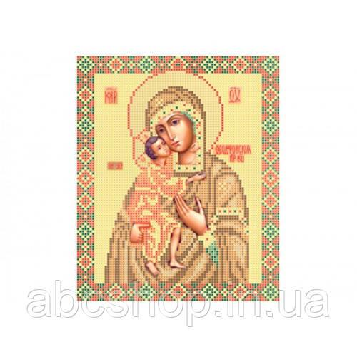 """""""Божа матір Федорівська"""" - Схема для вишивки бісером ікони"""