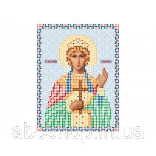 """""""Свята мучениця Олександра"""" - Схема для вишивки бісером ікони"""