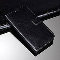Чехол Idewei для OPPO A53 книжка кожа PU черный