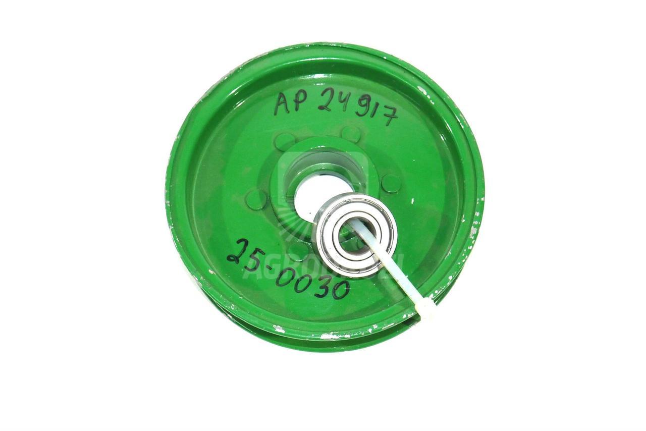 Натяжний ролик віялки комбайна fi18мм John Deere AP24917