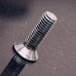 Винт с потайной головкой 5х10 мм ➡️ 1000 шт/упак ➡️ Винт Din 965 потайная головка