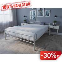 Кровать MELBI Лара Люкс Двуспальная 120х200 см Бежевый
