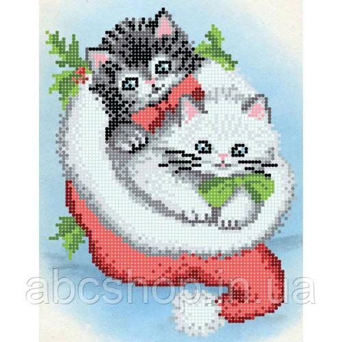 """""""Веселі котики"""" - Схема для вишивки бісером"""