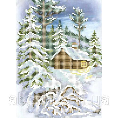 """""""Зимова прогулянка"""" - Схема для вишивки бісером"""