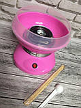 Апарат для приготування солодкої вати Cotton Candy Maker + палички для солодкої вати, фото 4