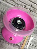 Аппарат для приготовления сладкой ваты Cotton Candy Maker + палочки для сладкой ваты, фото 5