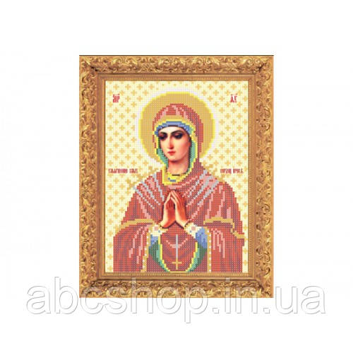 """Набір для вишивання бісером ікони """"Божа Матір Семистрільна"""""""
