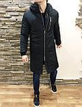 ХИТ 2020! Мужская Куртка, Парка до -25 С Длинная парка мужская чоловіча куртка парка стильная зимняя куртка, фото 4