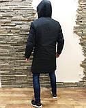 ХИТ 2020! Мужская Куртка, Парка до -25 С Длинная парка мужская чоловіча куртка парка стильная зимняя куртка, фото 5