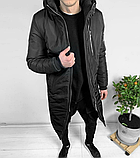 Мужская Куртка, Парка до -25 С Длинная парка мужская чоловіча куртка парка стильная зимняя куртка, фото 2