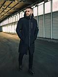 Мужская Куртка, Парка до -25 С Длинная парка мужская чоловіча куртка парка стильная зимняя куртка, фото 3