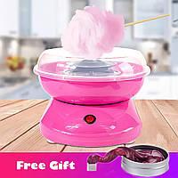 Аппарат для приготовления сладкой ваты Cotton Candy Maker + палочки для сладкой ваты