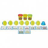 """Набор пластилина """"Учимся считать"""" 168 гр., Play-Doh, 3 цвета (B3406), фото 2"""