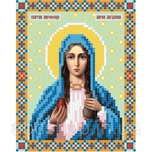 """""""Свята мироносиця Марія Магдаліна"""" - Схема для вишивки бісером ікони"""